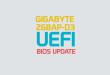 Gigabyte Z68AP-D3 Model Anakart İçin UEFI Destekli Bios Güncellemesi