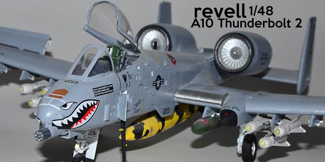 Revell 1/48 Ölçekli A10 Thunderbolt 2 Model Çalışmam
