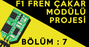Fren Çakar Modülü Projesi : Bölüm 7 – Megane 3 Fren Çakar Modülü Montajı