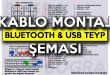 Megane 3 – Fluence Araçlara Bluetooth & USB'li Orijinal Teyp Montajı Nasıl Yapılır? Soket Bağlantı Şeması Burada!